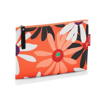 reisenthel case 1 handtasche tasche kosmetiktasche collection 4 orange blumen