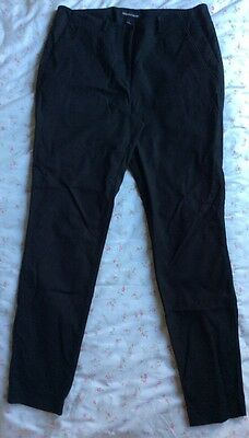 Country Road Black Trouser - Size 12