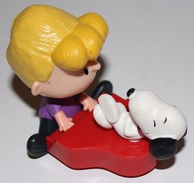 Schroeder & Snoopy Playing Piano Toy Made By Schulz for McDonalds Happy Meal