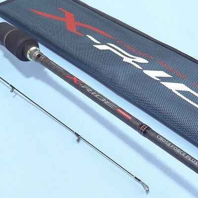 Major Craft X-RIDE XRS-S732M Spinning Rod 2 piece Fishing NEW Carbon X RIDE