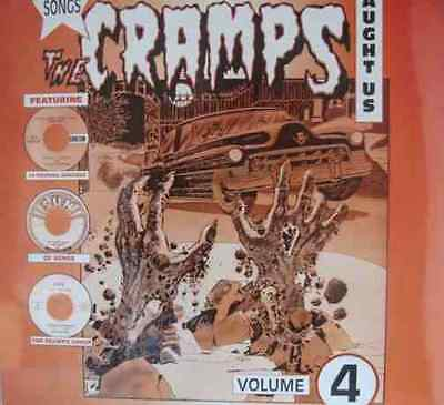 Various - Songs The Cramps Taught Us Volume 4 LP New