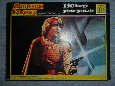 Waddingtons 1978 Battlestar Galactica Jigsaw Puzzle. Starbuck : The Hero.