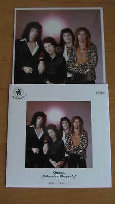 Queen Bohemian Rhapsody Flexi Disc in Picture sleeve Poland