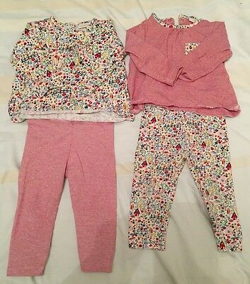 Pair Of Next Baby Girls Outfits - Size 6-9 Months