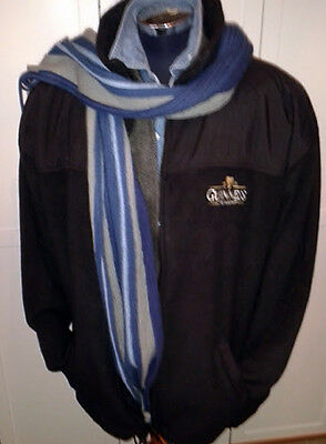 A Guinness Zipped Fleece' ~ Size XXL to fit Chest 42/44