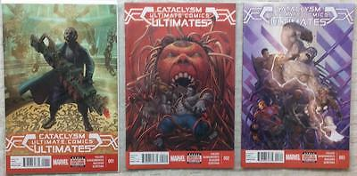 Ultimates Cataclysm complete series #1 & #3 (Marvel 2014) High grade.