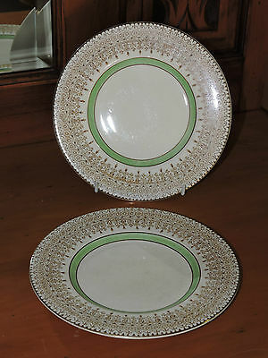 Vintage  BARRATTS of STAFFORDSHIRE ENGLAND 2 Side Plates