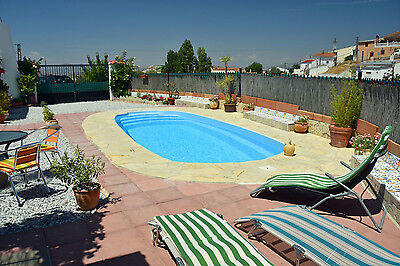 Luxury FULL BOARD Cave House holiday in South Spain, with Private Pool !!