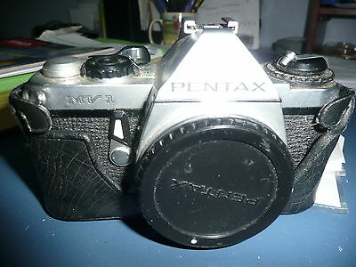 Pentax ME Super 35mm SLR  Camera Body  but with extra special lens