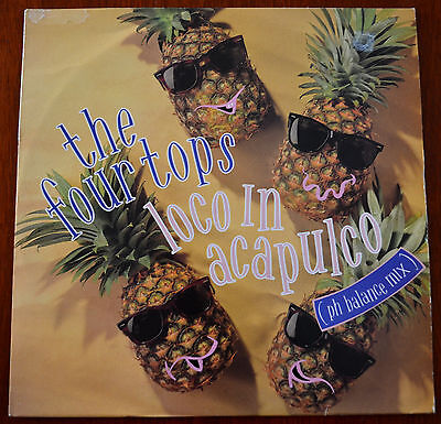 """Four Tops – Loco In Acapulco 12"""" – 611 916 – VG"""