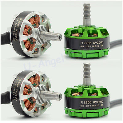 4set Sunnysky R2205 Brushless Motor 2CW 2CCW for FPV Racing Quadcopter