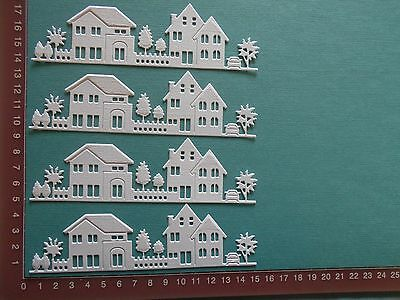 Die cuts - Houses - Congratulations, New House, Christmas