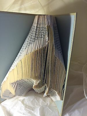 Book folding art pattern Dolphin folded book (pattern only)