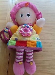 Lamaze My Friend Emily Doll Rattle Activity Soft Toy