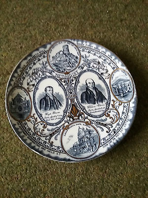 Wood bros 100 years Methodist plate 1807 -1907. Bourne and Clowes