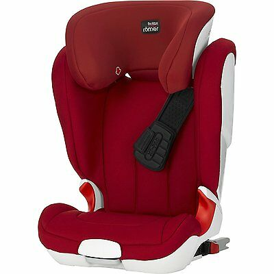 Britax Romer Kidfix XP High-Backed Booster Car Seat Group 2/3 (4-12 Years) RED