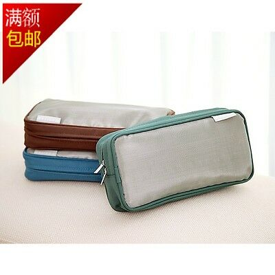 United Airlines Travel Amenity Kit Bag - Green