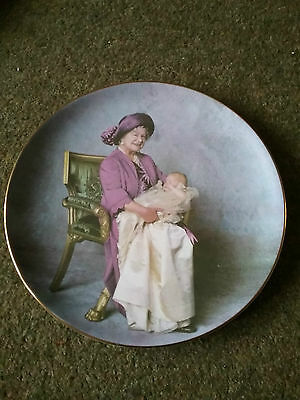 Queen Mother and Prince Henry Fine bone china full colour 11inch diamter plate