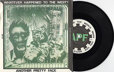 Another Pretty Face - Whatever Happend To The West ? - 1980 UK 45 - New Wave EX-