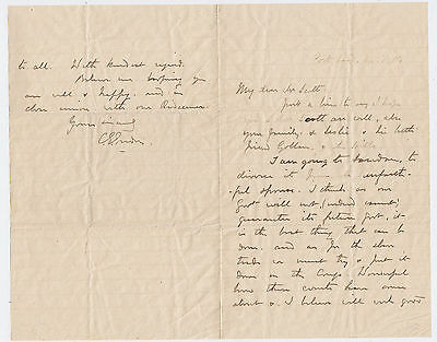 GENERAL C.G.GORDON, Autograph Letter Signed, slavery and the Sudan, 1884