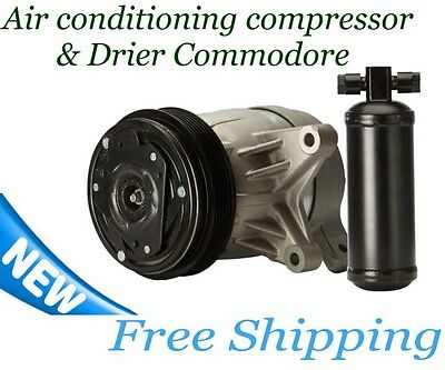 New Air Conditioning Compressor & Drier For Holden Commodore VT VX VY V6