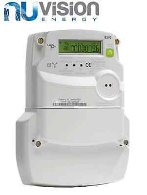 Landis + Gyr - E230 Three Phase Kwh Meter Oftec Generation Meter