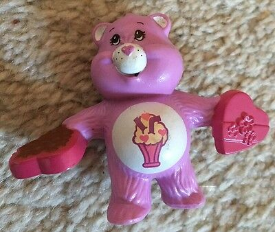 "Vintage 1980s Care Bear, Share Bear 2"" Approx Figure"