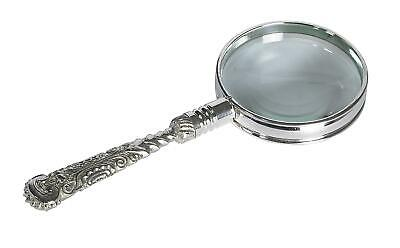 Authentic Models Rococo Magnifier, Silver - Rokoko Lupe silbern