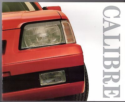 Vauxhall Cavalier Calibre 2.0i Limited Edition 1987 UK Market Sales Brochure