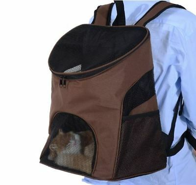 Dog Cat Pet Backpack Carrier Travel Bag Breathable Puppy Kitten Rucksack Outdoor