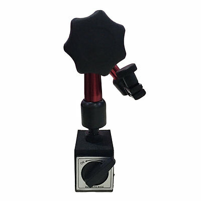 Universal Flexible Magnetic Metal Base Holder Stand Dial Test Indicator Tool#DB