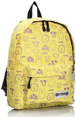 OUTDOOR PRODUCTS miffy daypack Backpack Bag large BN804 yellow Kawaii Japan New