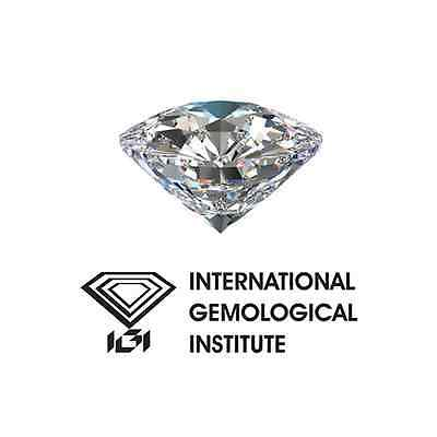DIAMANT Certifié IGI - Brillant - I / VVS2 - 0,30 Carat - G / G / G -VS- Diamond