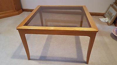 Chiswell solid teak square Lamp Table