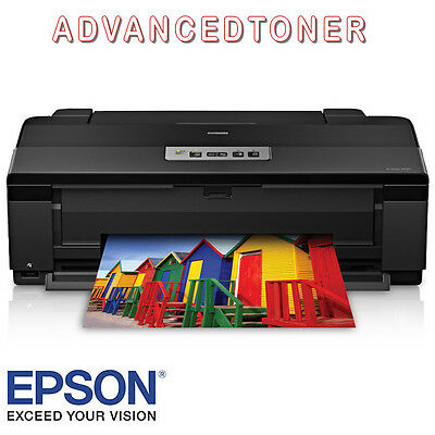Epson Artisan 1430 A3 Wi-Fi CD/DVD Print. With Set of 6 Genuine Ink Cartridges