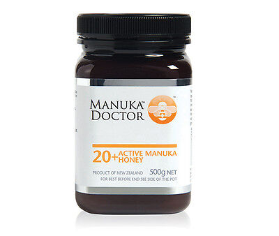 Manuka Doctor 20+ Manuka Honey 500g