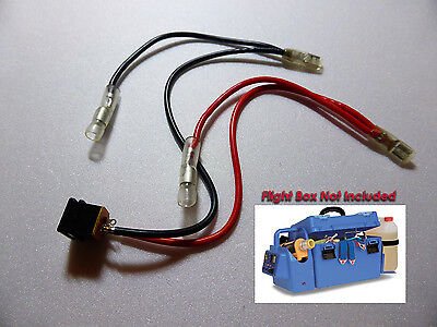 L-RFB200/L Model Aircraft Flight Box Wiring & Connectors, For 12 v Charge,Panel