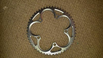 Sram Powerglide road chainring 130BCD 53t V4 Ice Grey, new and unused