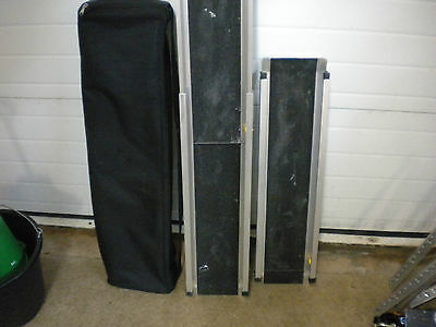 1351 1 Pr 4 Ft telescopic Ramps Many uses  SWL 272 Kgs Used