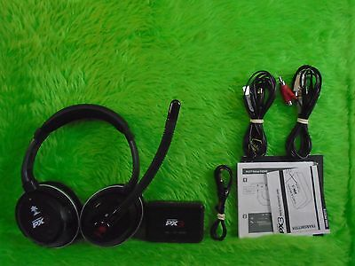 PS3 PC xbox 360 TURTLE BEACH Ear Force PX3 Gaming Headset + Mic