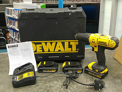 **DeWalt DCD776 Cordless Drill Boxed with 3 Batteries**