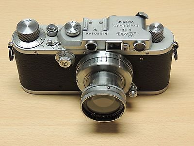 Leica IIIa Rangefinder 35mm Camera + 50mm f2 Summar - Nice Condition