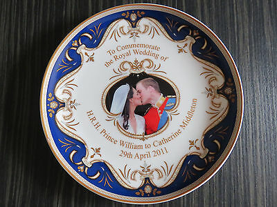 Royal Crest Prince William/kate Middleton Wedding Plate - For Greyhound Rescue