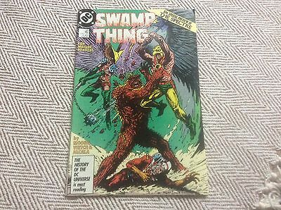 SWAMP THING No:58 Boarded & Sleeved - COMBINED POSTAGE OFFERED