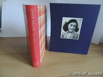 Anne Frank - The Diary of a Young Girl - Folio Society Book