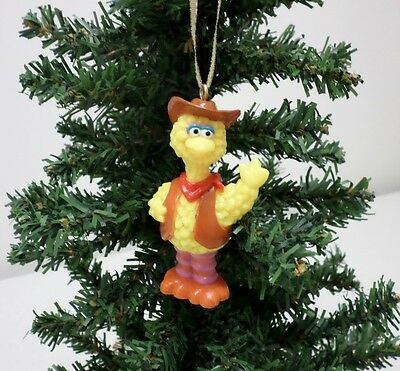 Sesame Street Big Bird Custom Christmas Tree Ornament