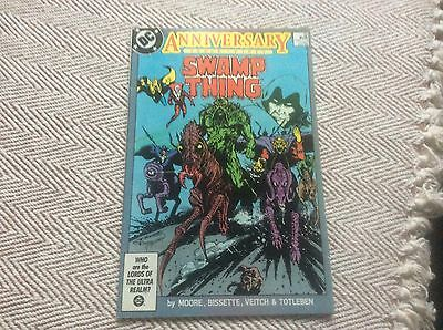 SWAMP THING ANNIVERSARY ISSUE No:50 Boarded & Sleeved - COMBINED POSTAGE OFFERED