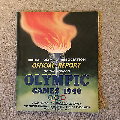 Official 1948 Olympics programme