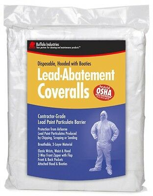 Buffalo Industries (68440) Lead Abatement Disposable Coverall - Size Medium