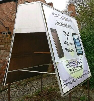 Advertising board A-frame fit for Daihatsu Hijet
